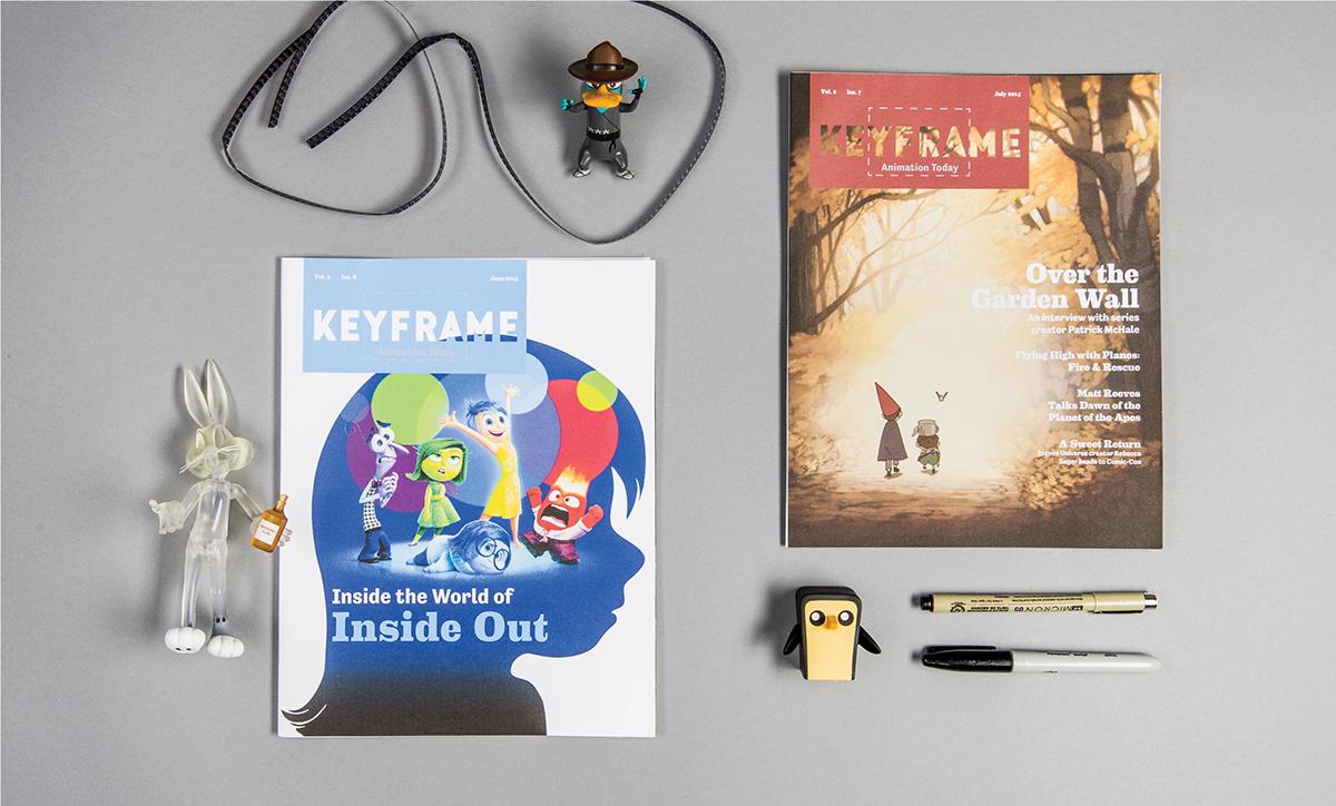 Keyframe Magazine on Behance