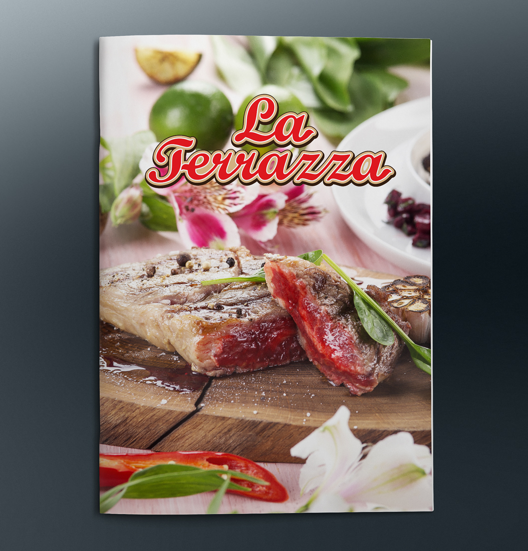 Season Menu For Restaurant La Terrazza On Behance