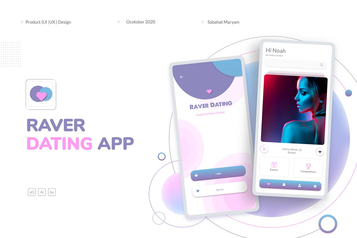 raver dating app 20 de viteză datând din londra