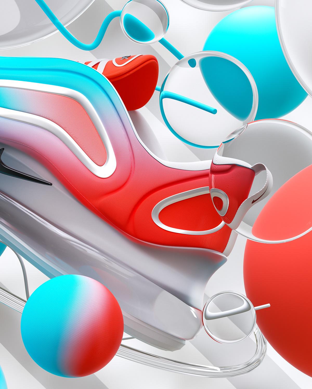 Nike X JD Air Max 720 on Wacom Gallery