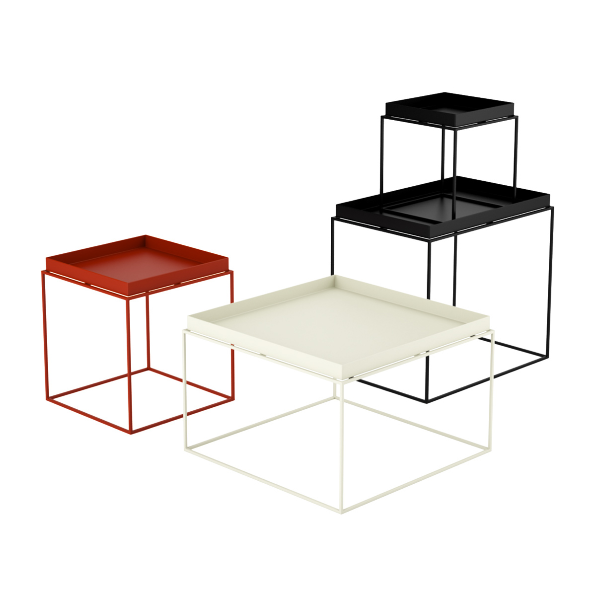 Free 3d Model: Tray Table By Hay On Behance