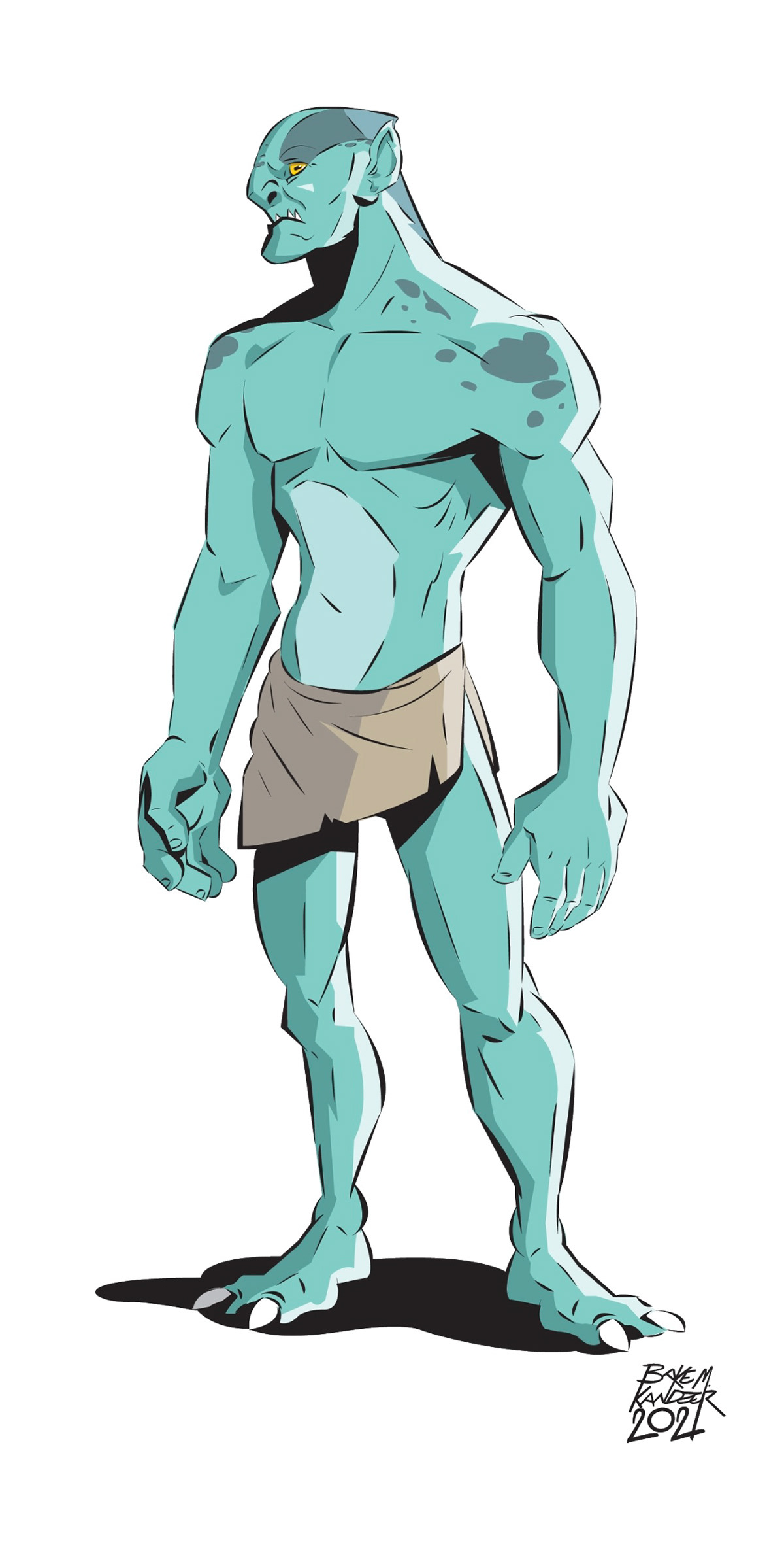 alien Character design  coloring Comedy Comic Book Comic Book inking
