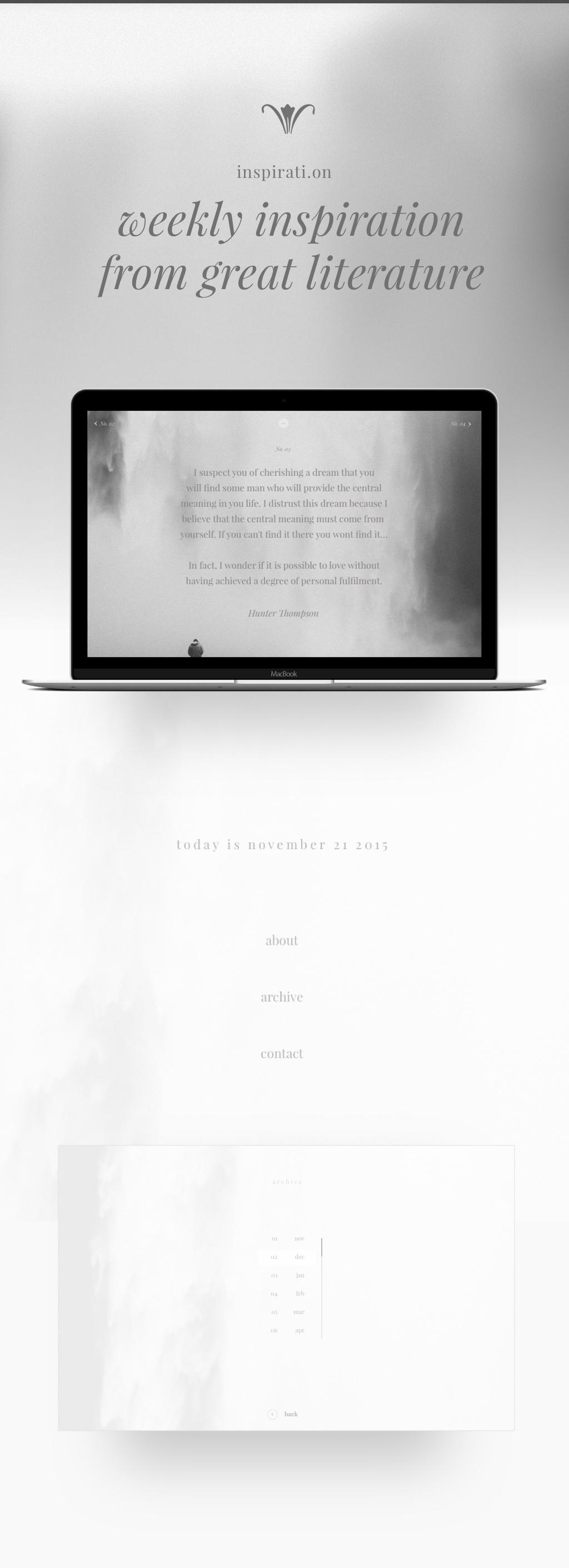 Web,Responsive,Web Design ,ux,literature,books,concept,inspiration