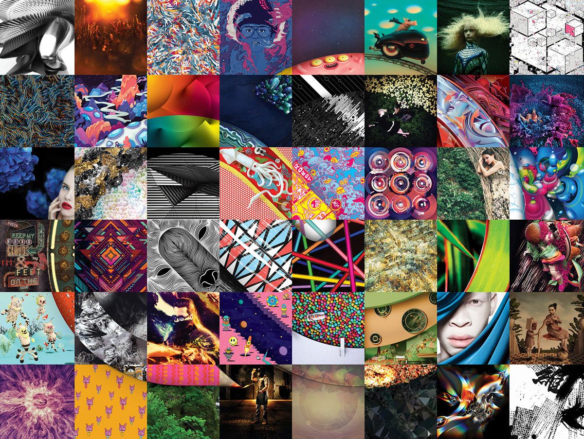 adobe Creative Cloud creative cloud mosaic CreateNow Collaborative Art