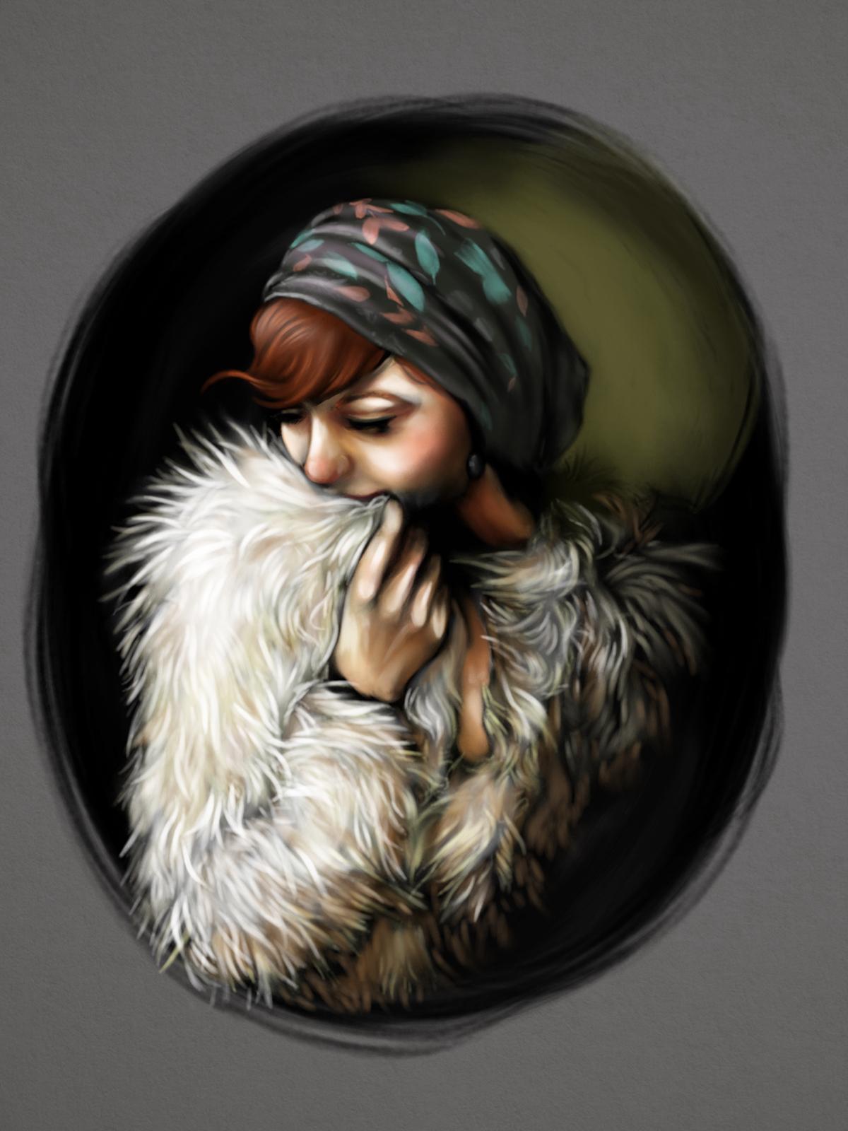 paint portraits digital commission