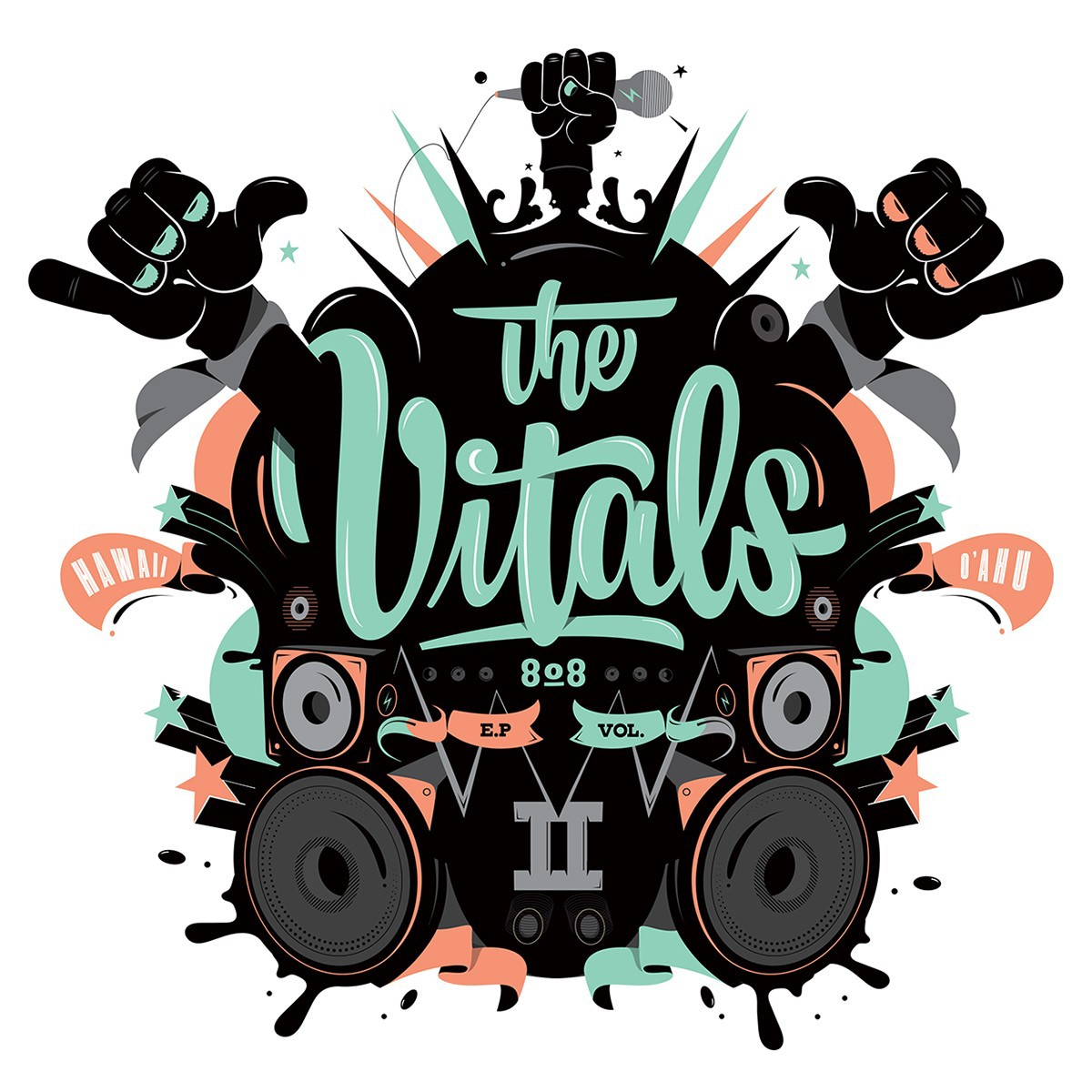The Vitals EP Cover on Behance