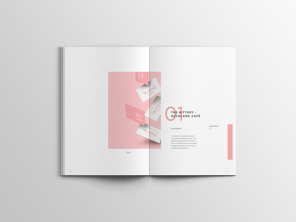 graphic design portfolio  u2014 minimal  simple on behance