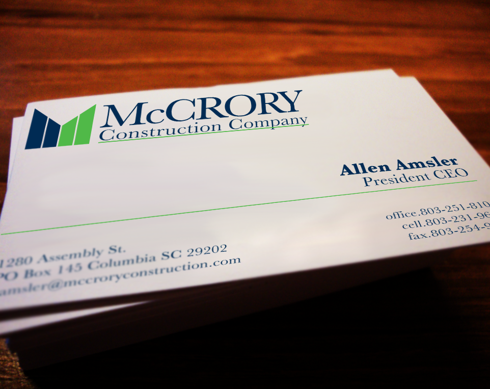 McCrory Construction Company on Behance