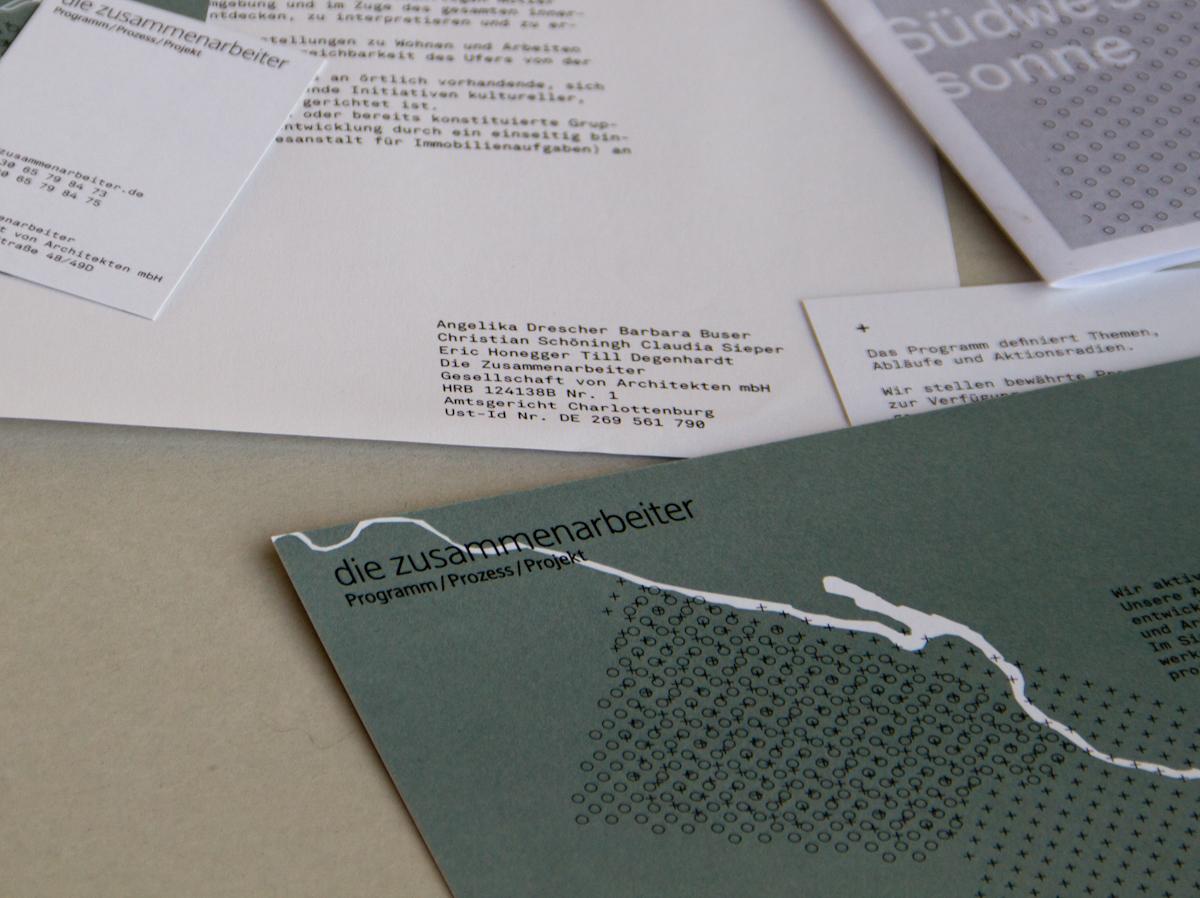 architects network berlin Baugruppen Corporate Design pattern infographics identity stationary