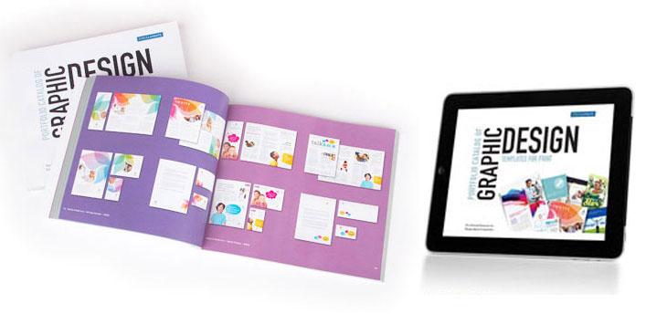free book catalog examples page layout portfolio pdf print design