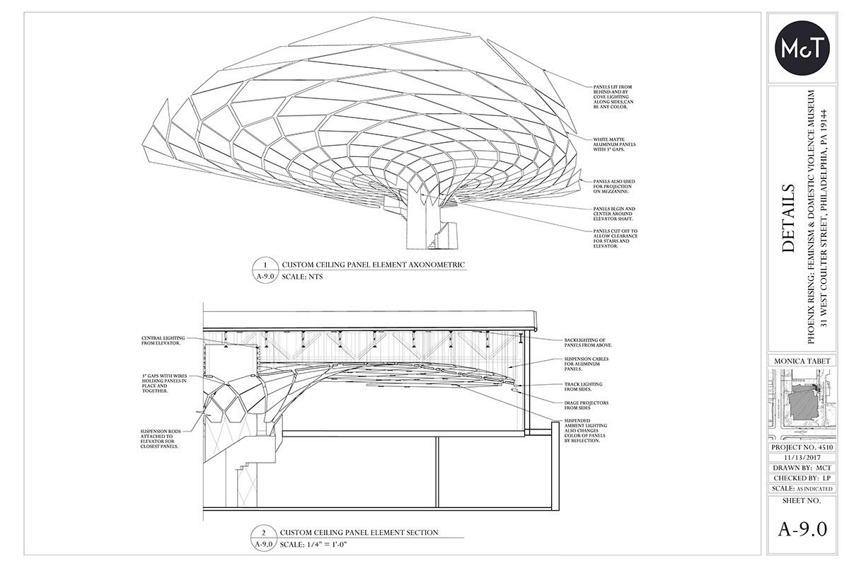 Phoenix Rising Museum - Construction Documents on PhilaU