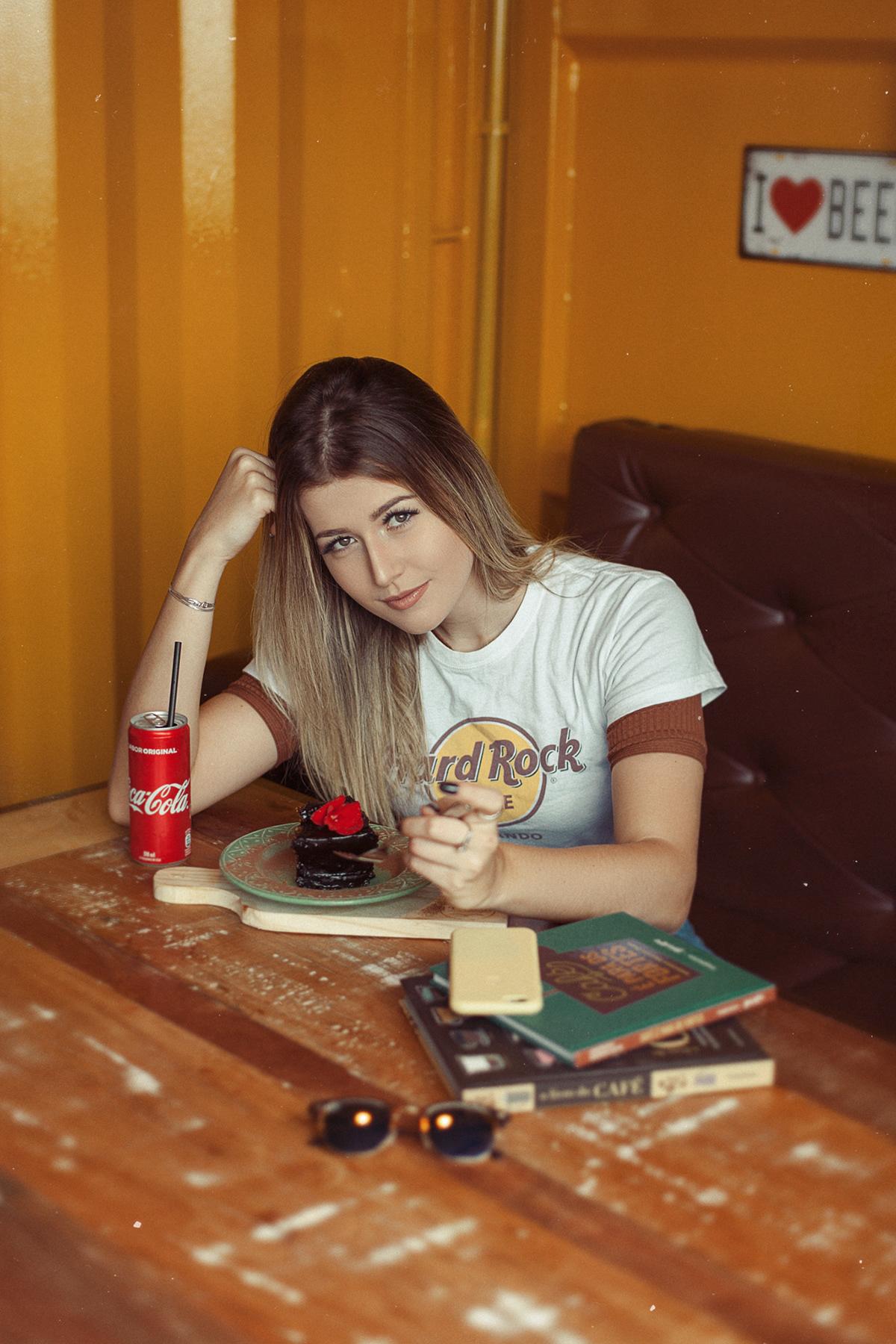 portrait Retro lifestyle moda blogger Street casual 70s