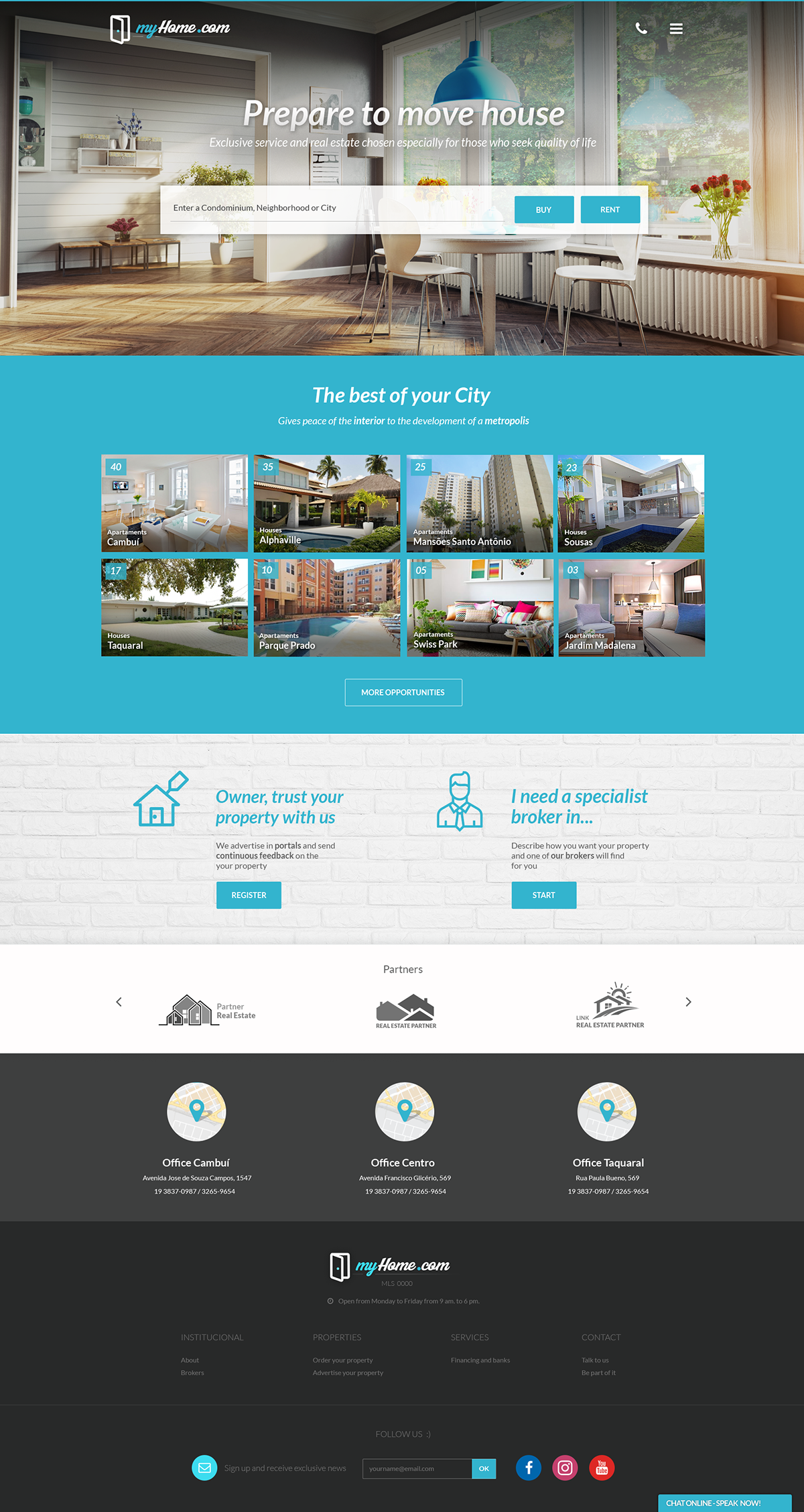 Real Estate Websites Templates On Student Show