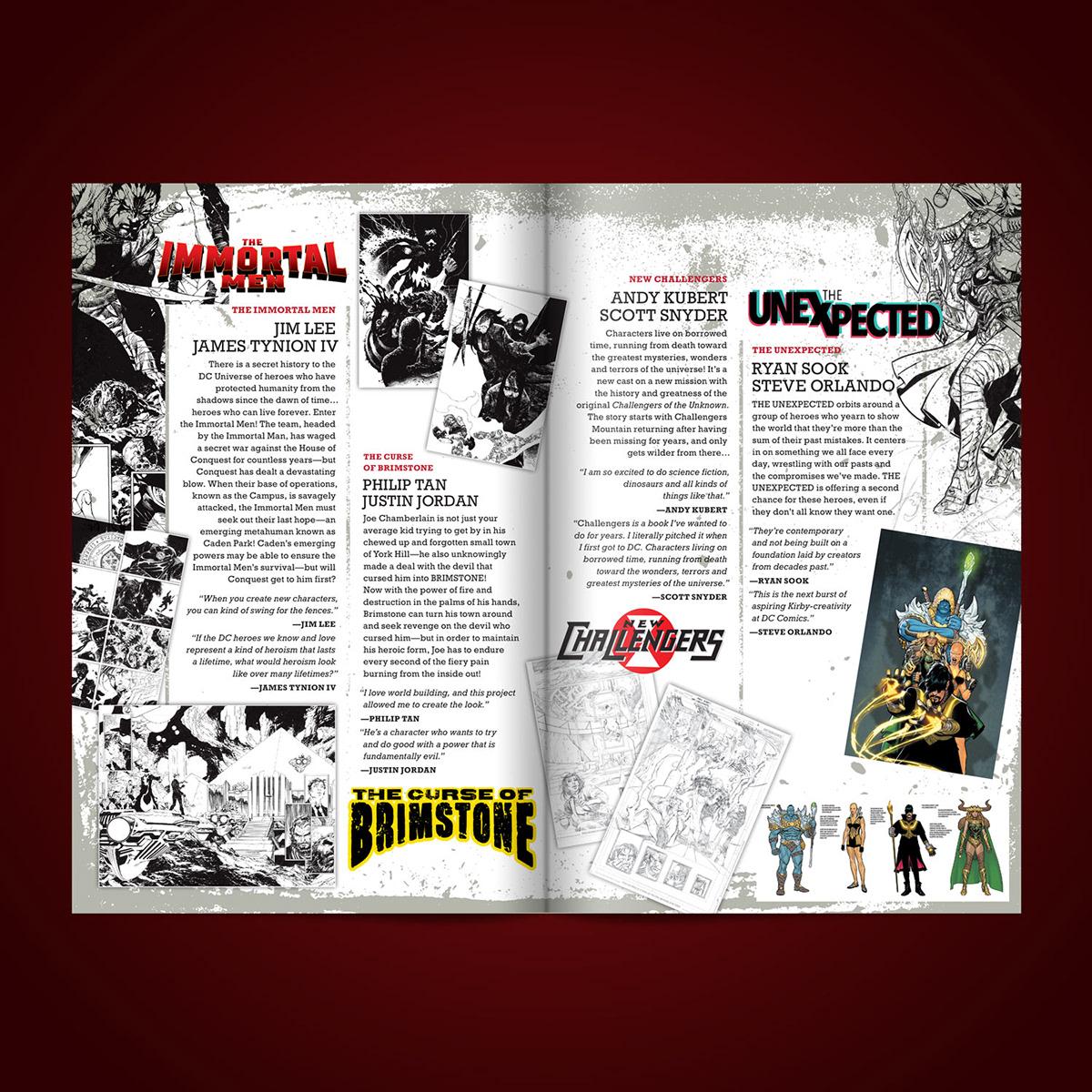 catalog comic art comics Dc Comics Josh Beatman scott snyder superheroes