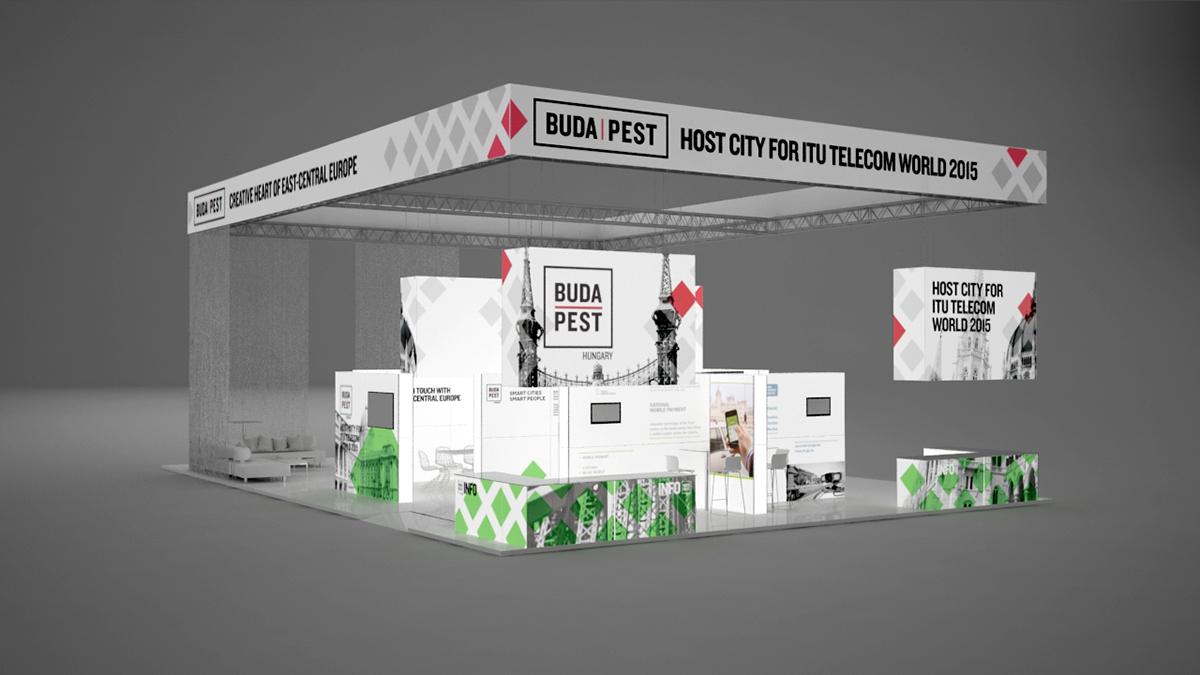 itu Telecom world hungarian budapest Stand exhibit