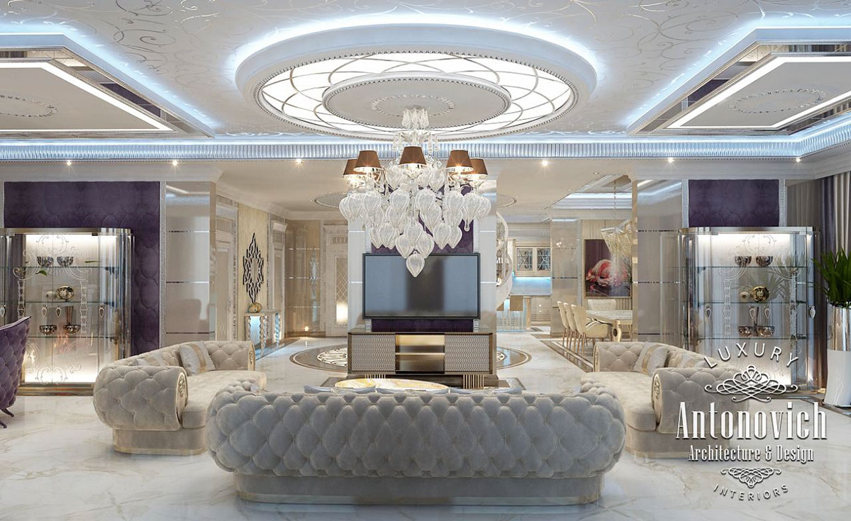 Luxury interior design dubai from katrina antonovich on for Luxury classic house