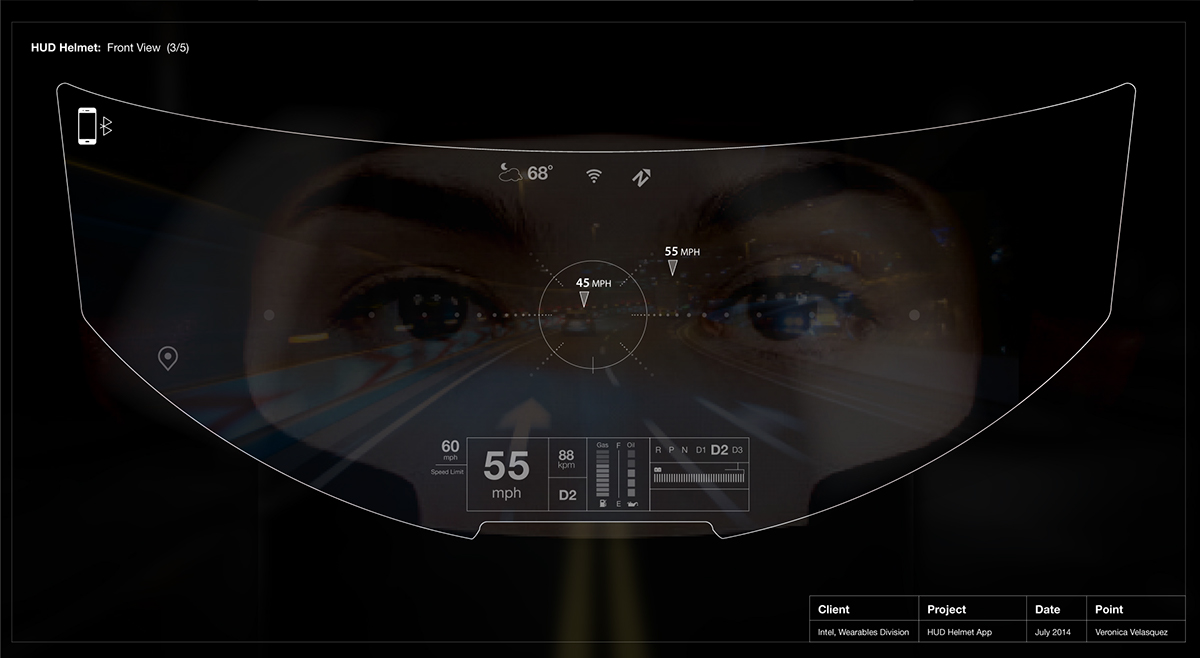 helmet ui    augmented reality interface on behance
