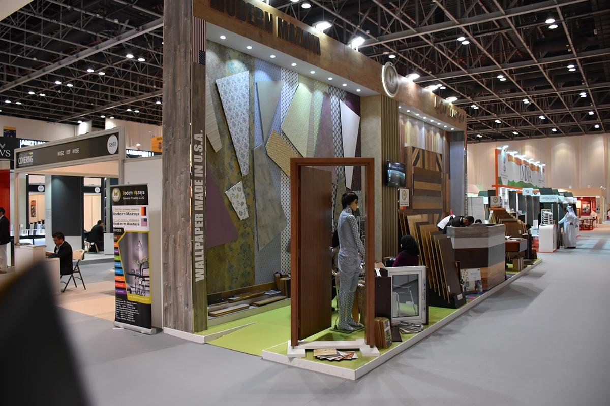Modern Exhibition Stand Yet : Modern mazaya exhibition stand design for index on wacom