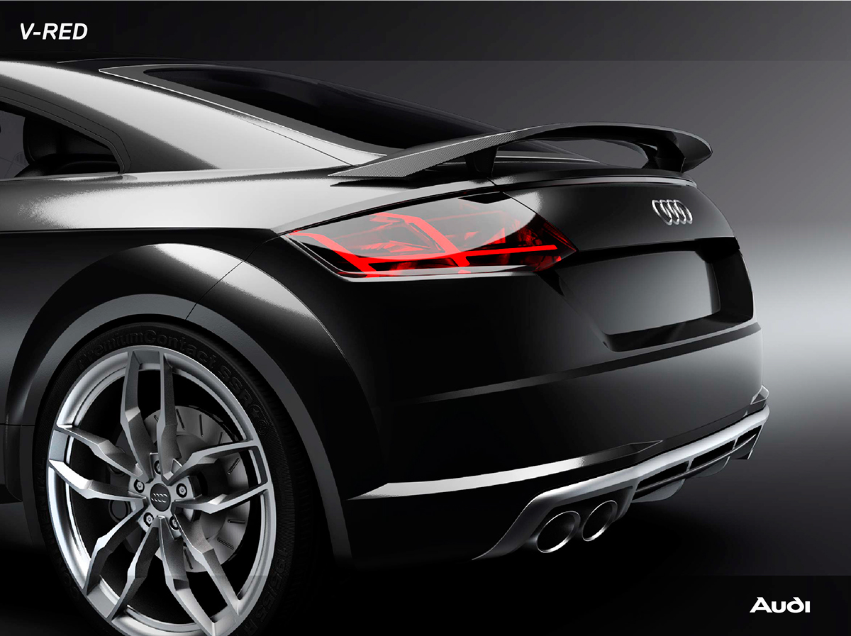 Audi Tts Master Degree Project On Behance