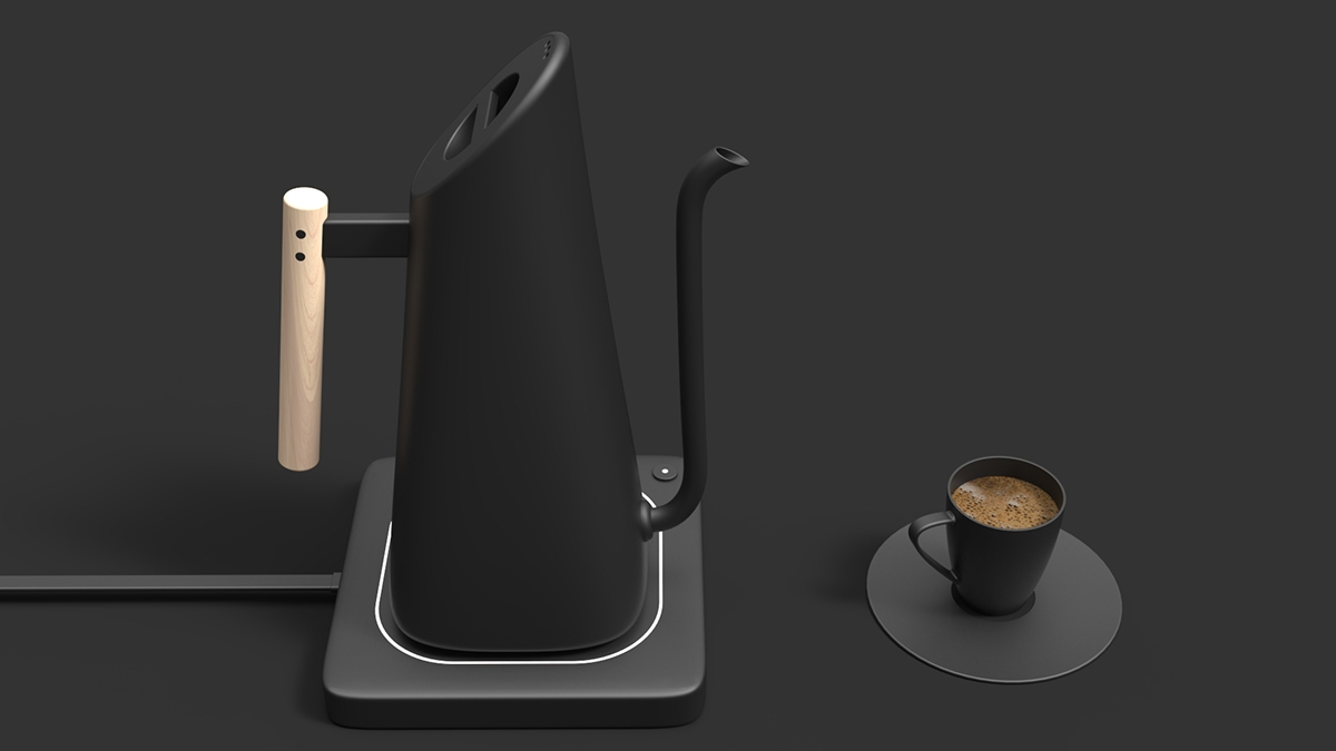 Ketoru Electric Pour Over Kettle On Risd Portfolios