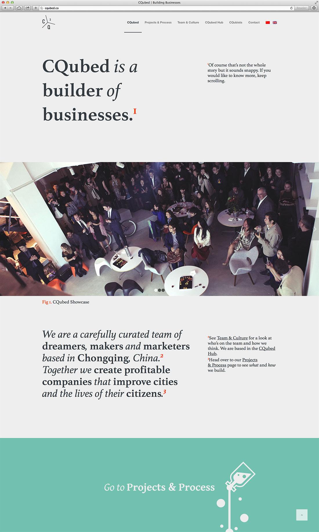 Website company school intern Food  arnaud CQubed CQubists enchanted KatarinaPahlson Adamson Fine Arts PriestmanArchitects architects