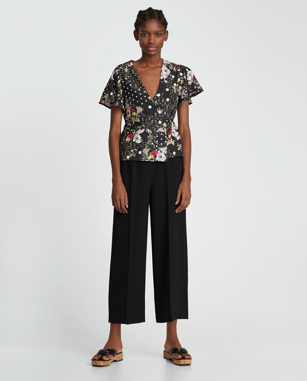 f009c7934d Zara Lady Printed T Shirt - DREAMWORKS