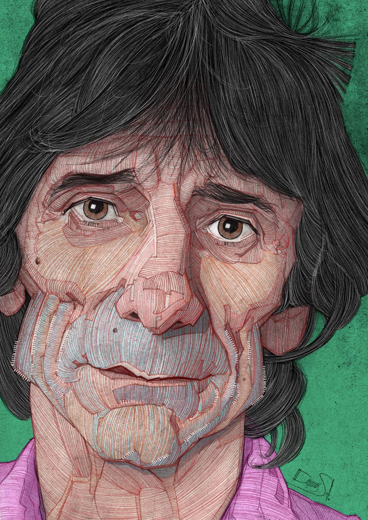 famous,caricature  ,portrait,pop,artistic,editorial,rock,legend,band,best,sketch