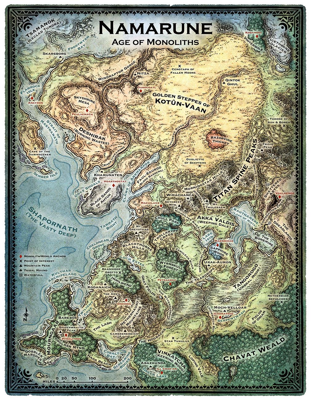 Map of Namarun