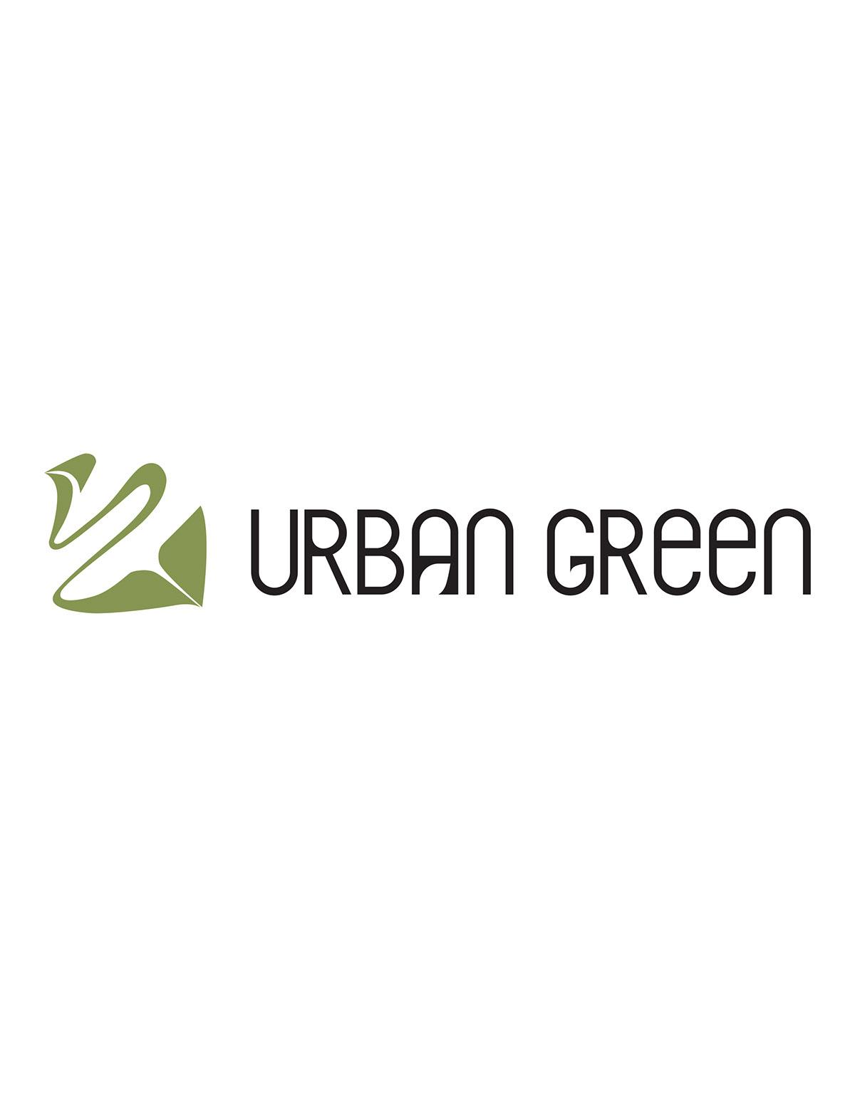 Urban Green Organic Cafe Logo Branding On Behance