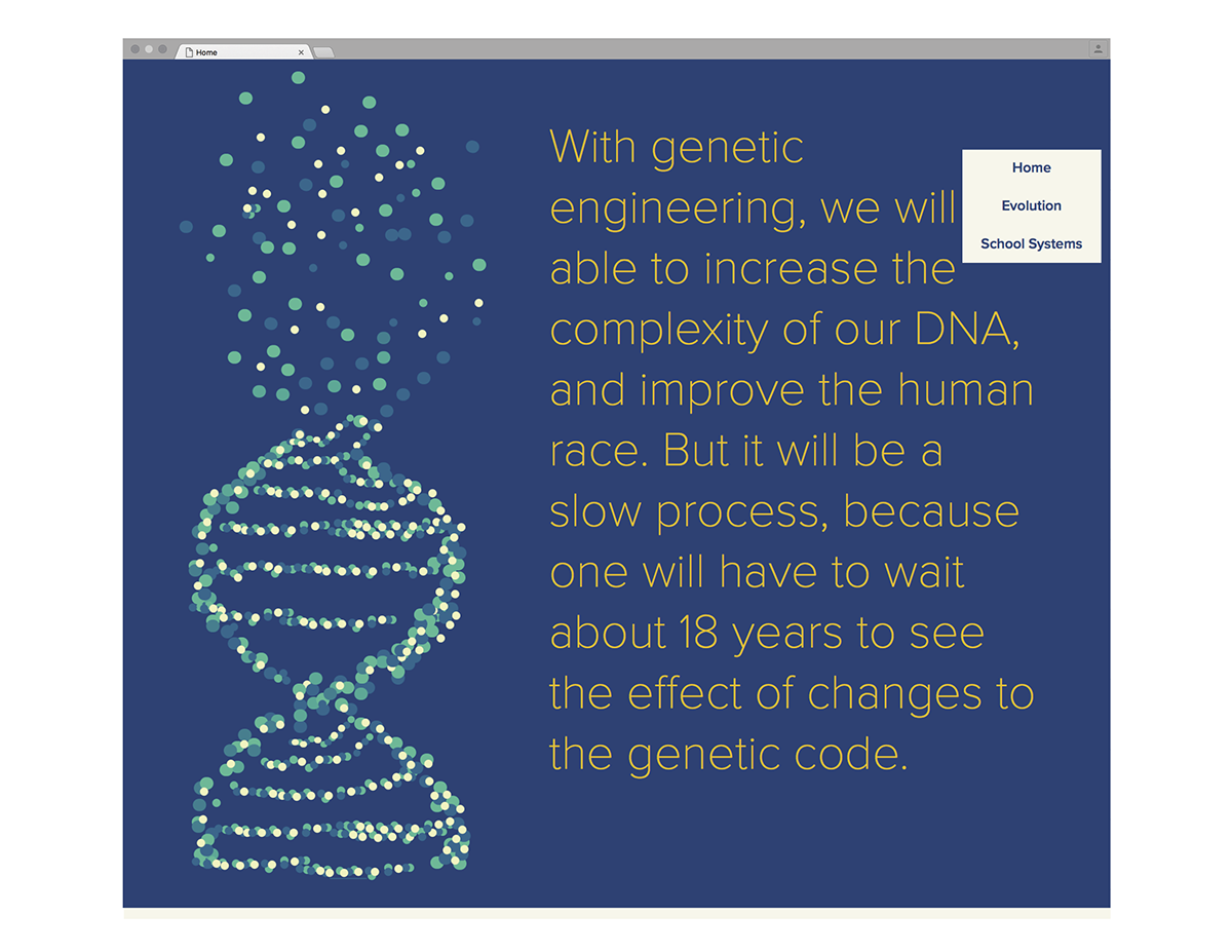 evolution Creationism science opinion Website muse