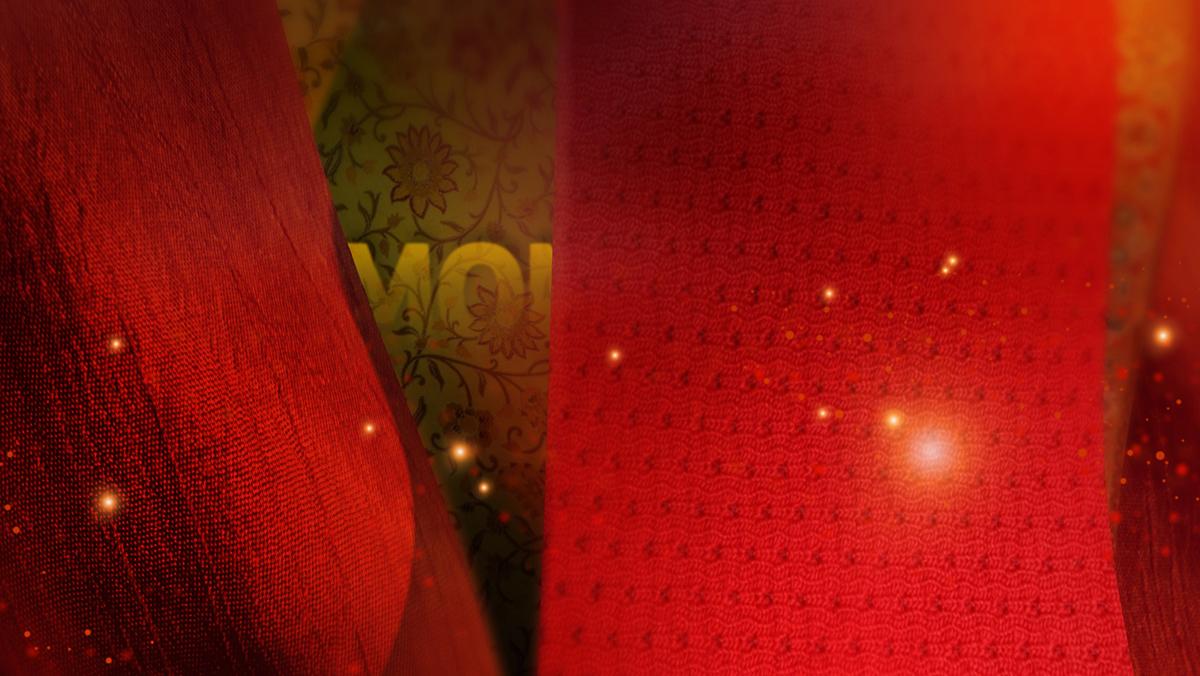 television  Broadcast Sony India motion graphics fabrics