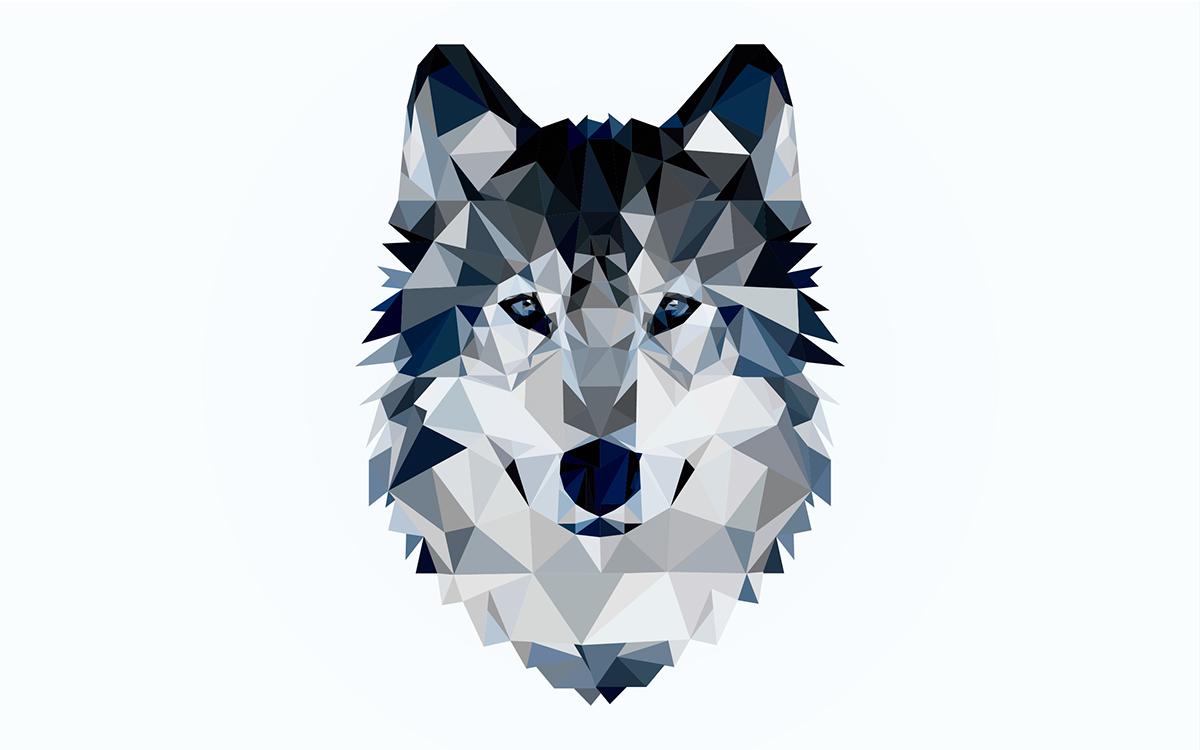 есть народ, картинка волк абстракция закуску