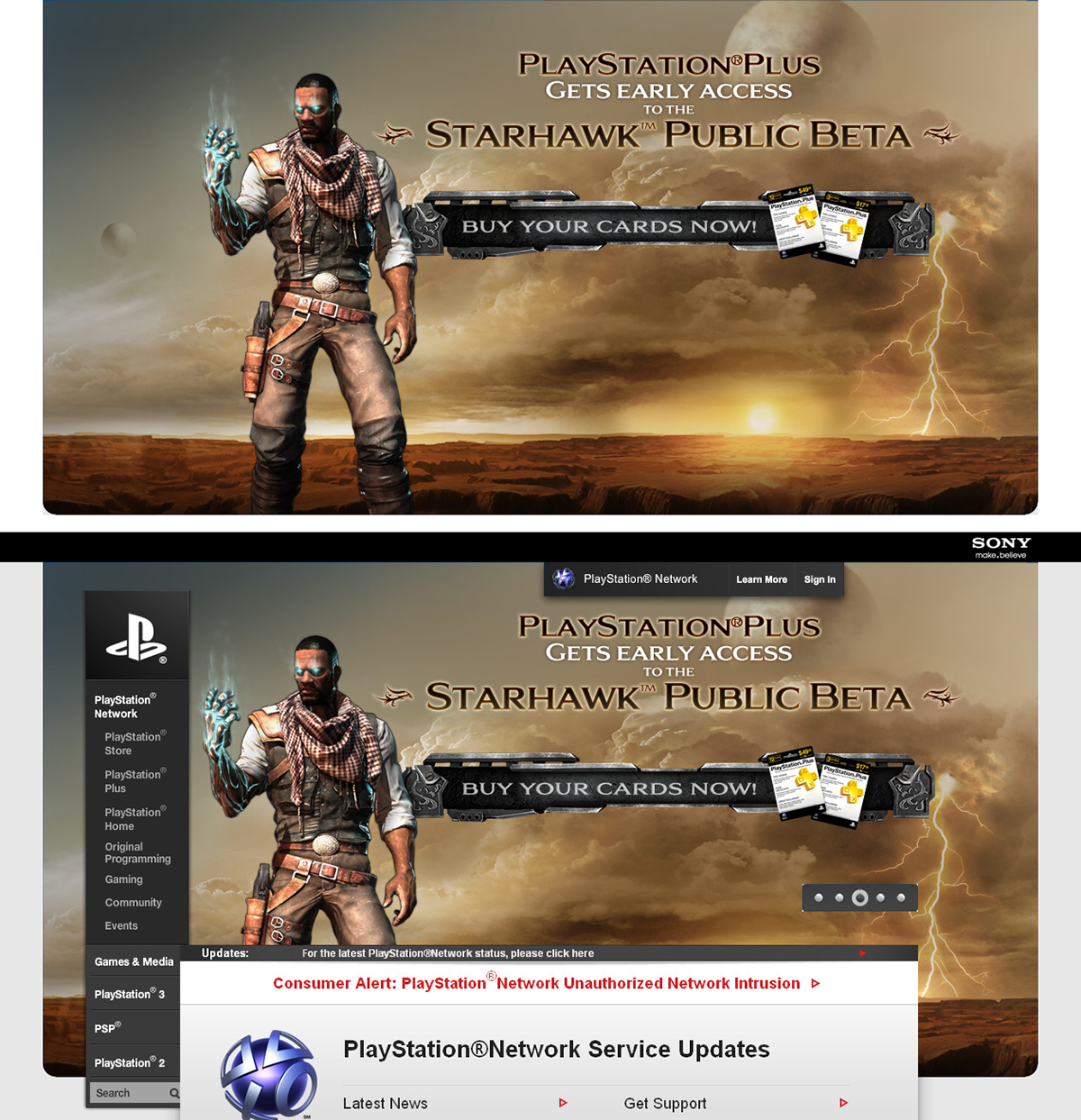 Online Banners - Sony PlayStation on Behance