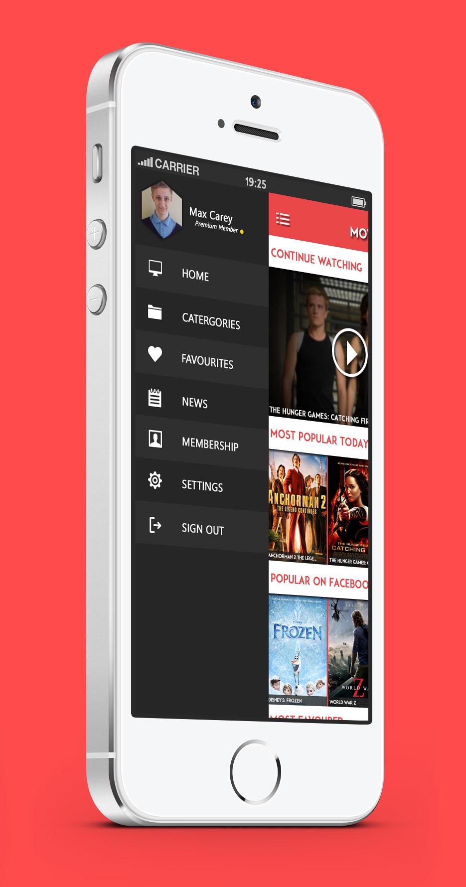 MovieBox | UI Kit on Behance