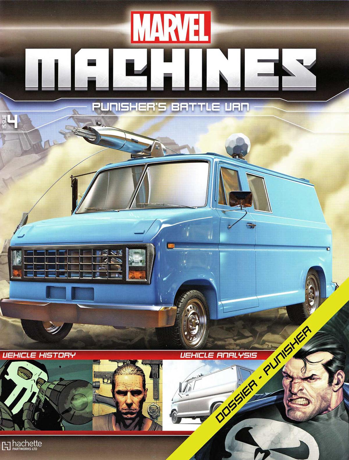 Hachette Marvel Machines Spider-Man Spider-Mobile Véhicule