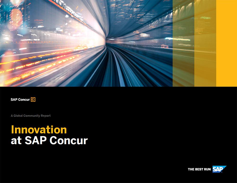 SAP Concur Innovation eBook on Behance