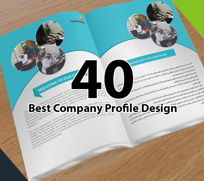 Layout Graphic Design Inspiration: 40+ Best Company Profile Design Inspiration On Behance