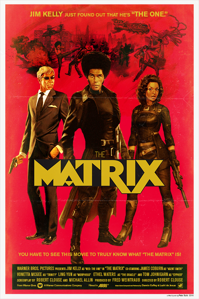 Movie Posters Film   Retro vintage what-if posters Cinema woody allen the matrix Marvel Cinematic Universe