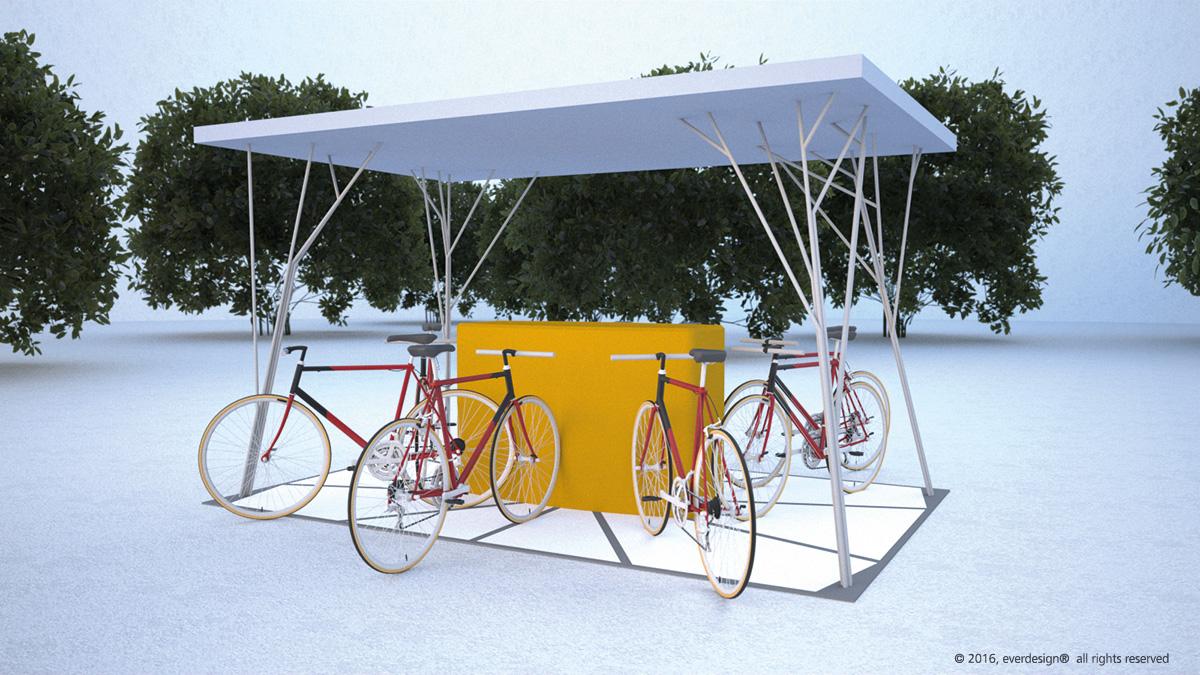 E Bike Charging Station On Behance