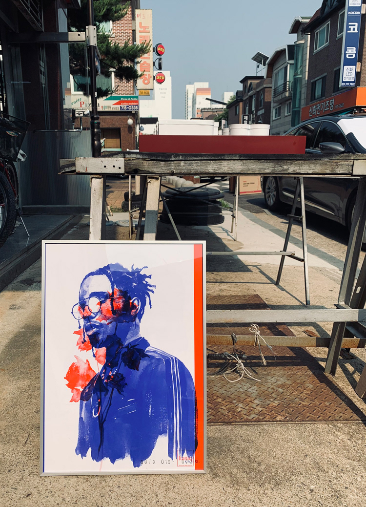 Drawing  fashion illustration frame ILLUSTRATION  kasiq mied media painting   streetfashion Style watercolor