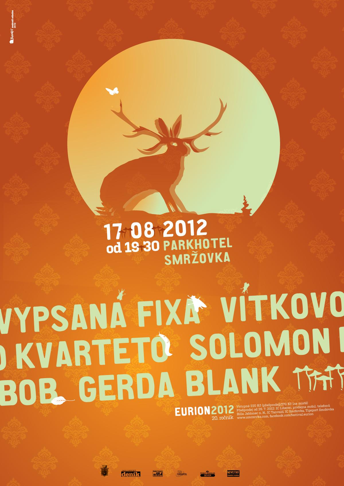 Adobe Portfolio poster Music Festival animal