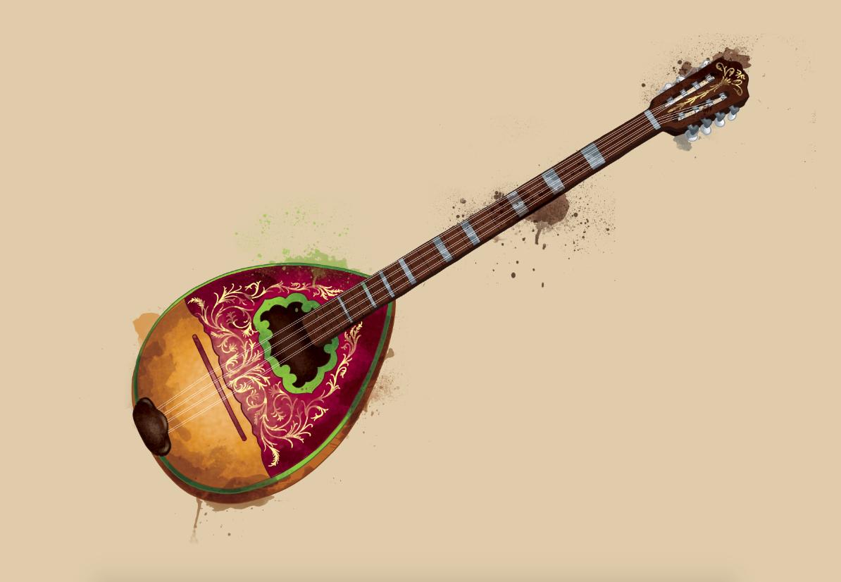 Arabic music instruments on Behance