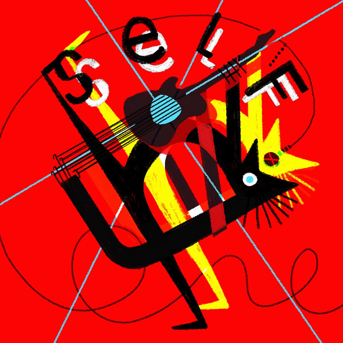 Digital Art  ILLUSTRATION  muse music