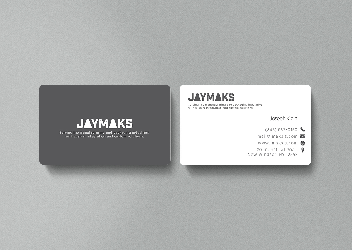Industrial Business Card Design on Behance