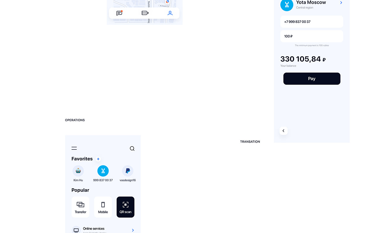 mobile application finance Bank Interface Experience ios user UI ux