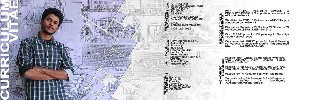 Exceptional Architecture Portfolio Of Anuvind MS ( Internship ) On Behance