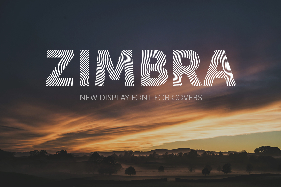 Free Font - ZIMBRA on Behance