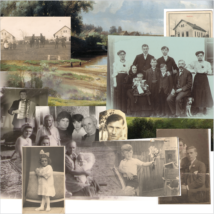portraits,family album,family,collage