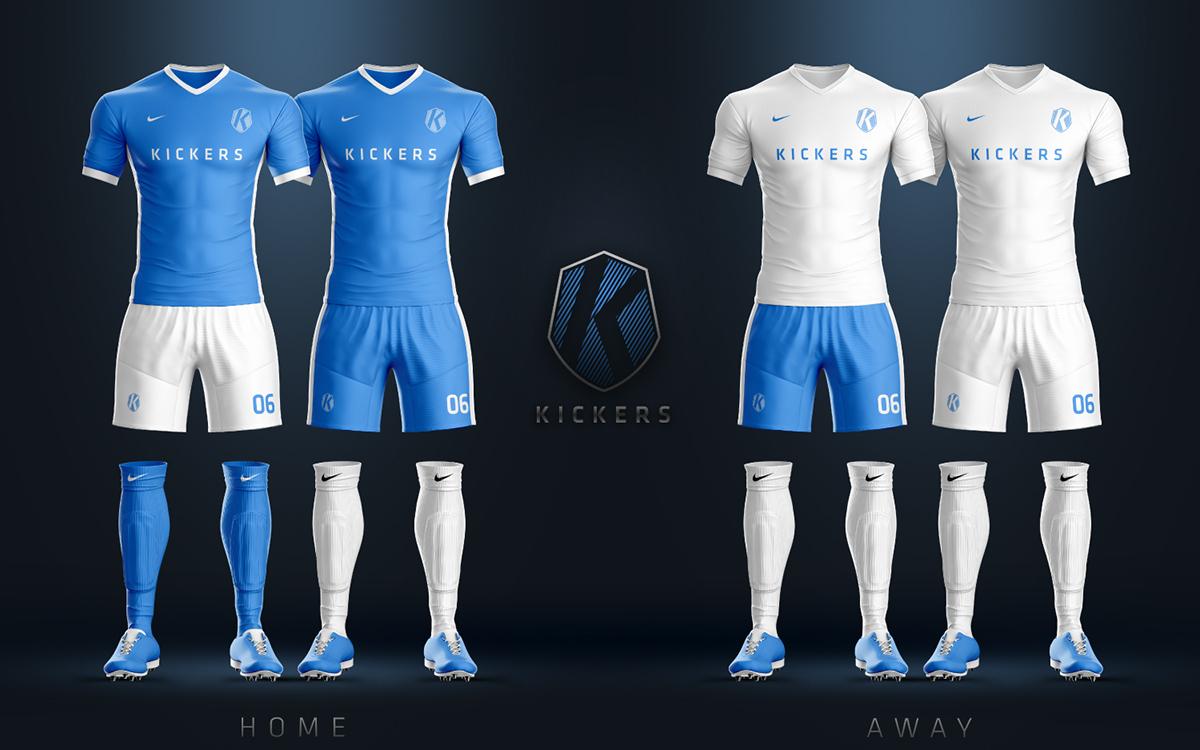soccer football Futbol branding  mockups Website Web design