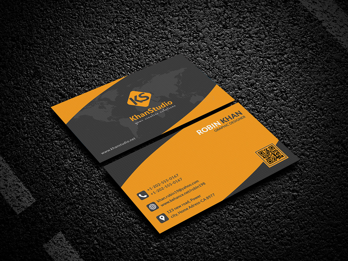 100 free business card psd templates free psd business card template friedricerecipe Gallery
